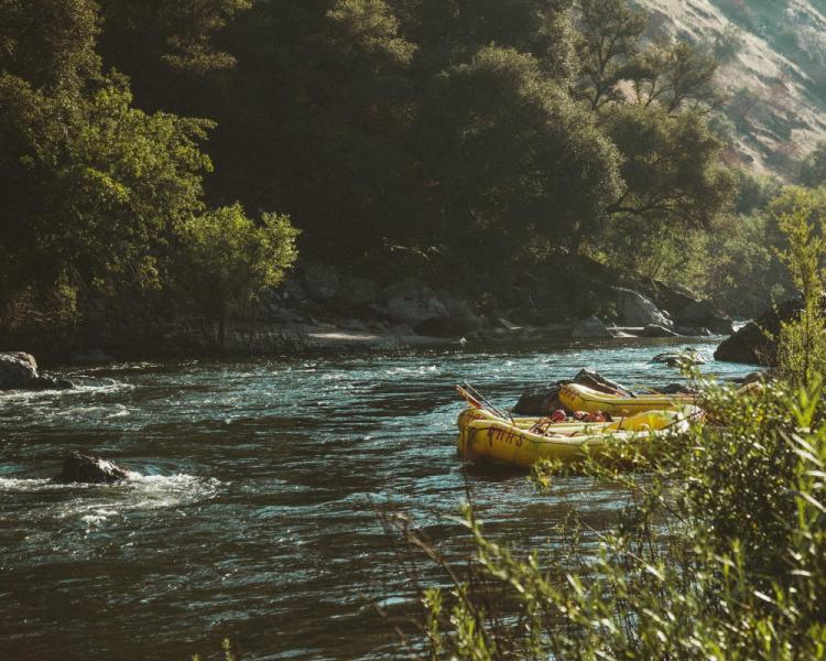 A Trip to Remember, rafting on the Nantahala River, Tennessee | Photo by Dane Deaner on Unsplash | Sanguine Meander